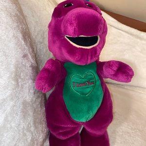 Barney Purple Dinosaur vintage Stuffed Animal